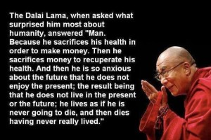 StressXpress humanity quote Dalai Lama